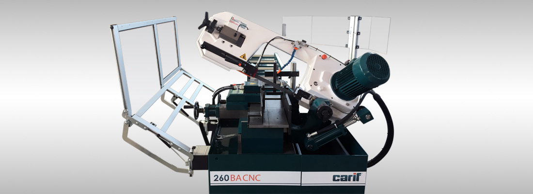 Carif bandsaegen automatische mit vollhydraulischen systemen 260 BA CNC