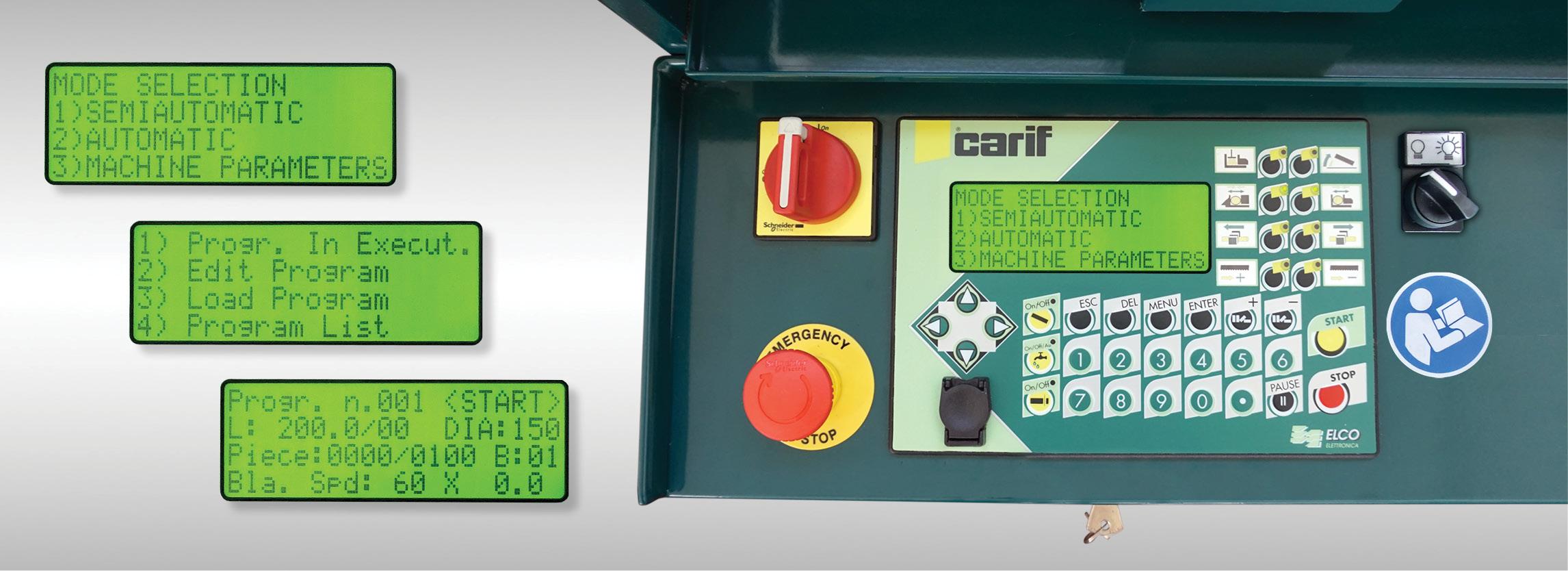 Carif 320 BA CNC slide 06